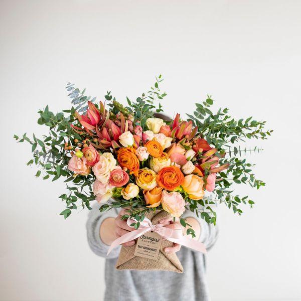 Farmgirl Flowers February with Heart