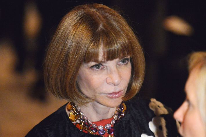Anna Wintour.