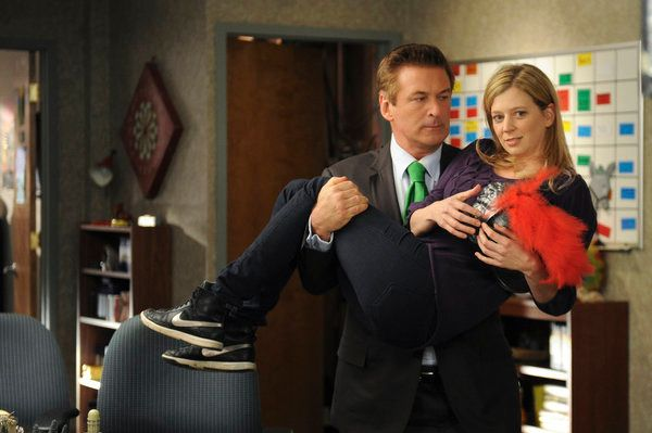 "30 ROCK -- ""St. Patrick's Day"" Episode 612 -- Pictured: (l-r) Alec Baldwin as Jack Donaghy, Sue Galloway as Sue."