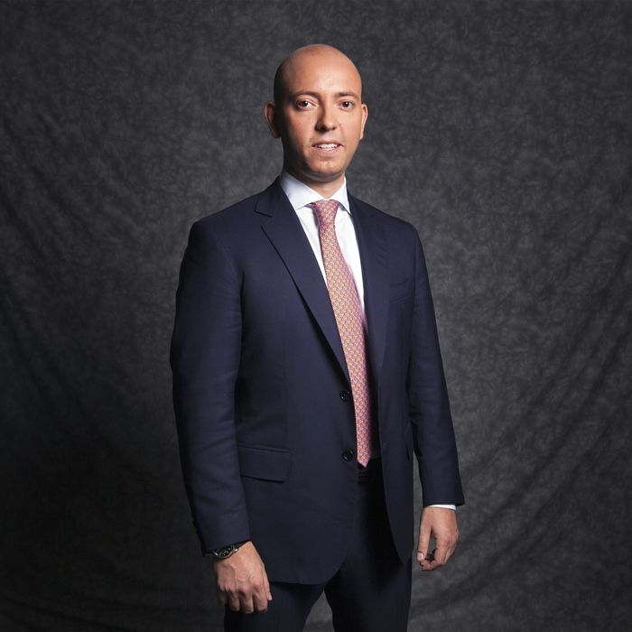Former Goldman Sachs Group Inc Vice President, Greg Smith, poses for a portrait after an interview to discuss his book Why I Left Goldman Sachs in New York