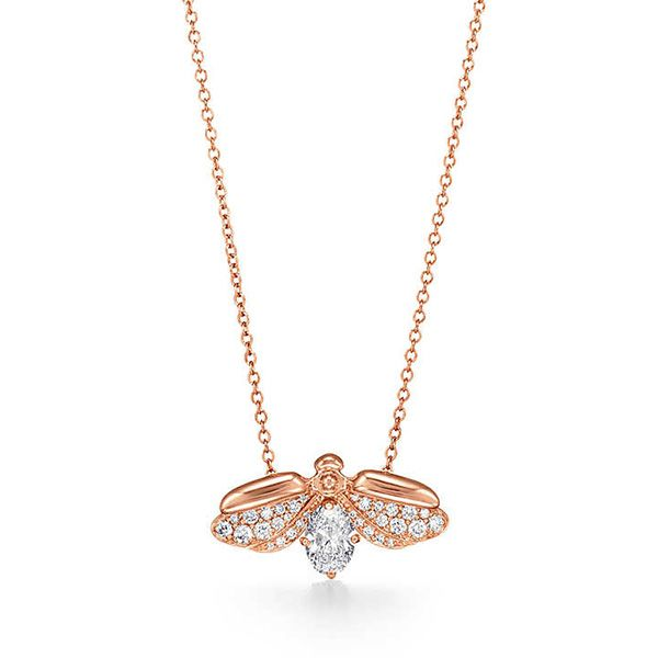 Tiffany Paper Flowers™ Diamond Firefly Pendant