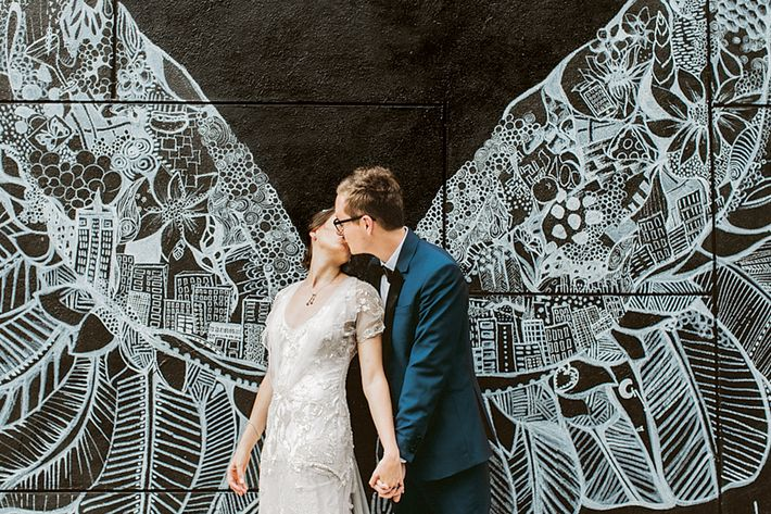 Nymag Real Weddings: Real Wedding Album: A Plan-B Bash Assembled In 3 Months