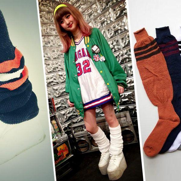 The socks.