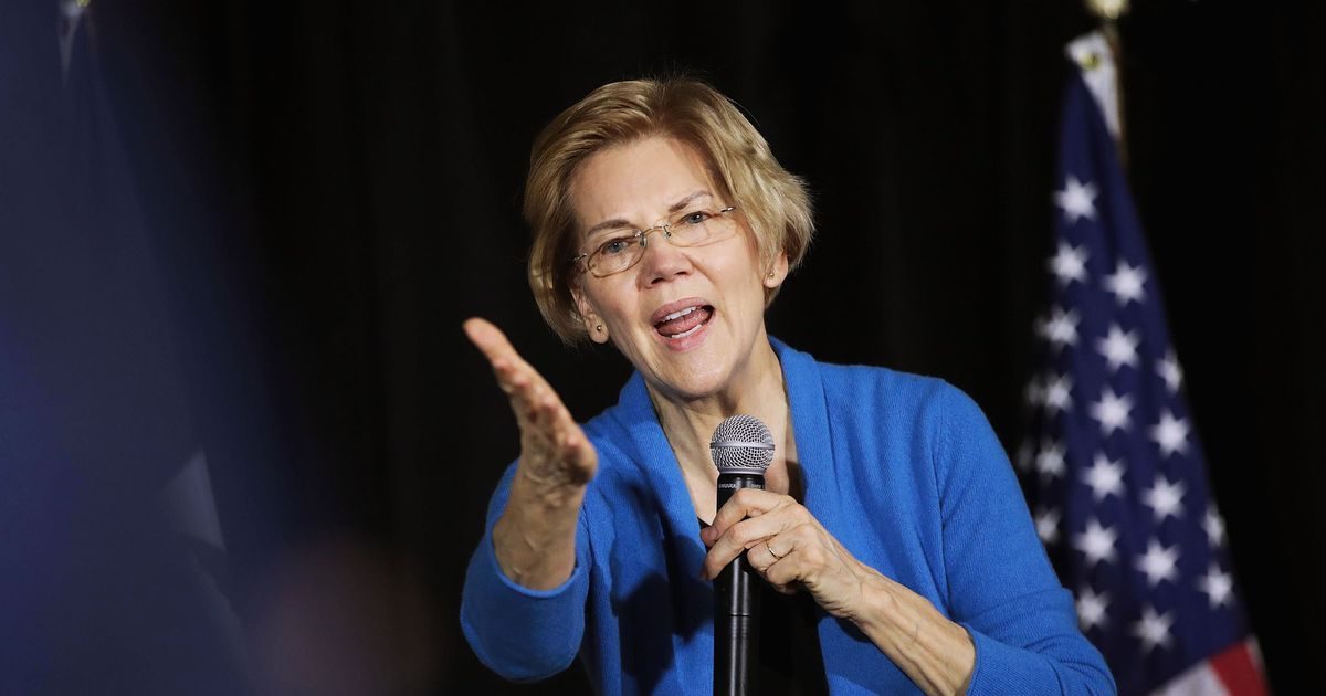 Warren Comes Out for Impeachment