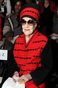 NEW YORK, NY - FEBRUARY 15:  Zelda Kaplan attends the Joanna Mastroianni Fall 2012 fashion show during Mercedes-Benz Fashion Week at The Studio at Lincoln Center on February 15, 2012 in New York City.  (Photo by Jason Kempin/Getty Images for Joanna Mastroianni)