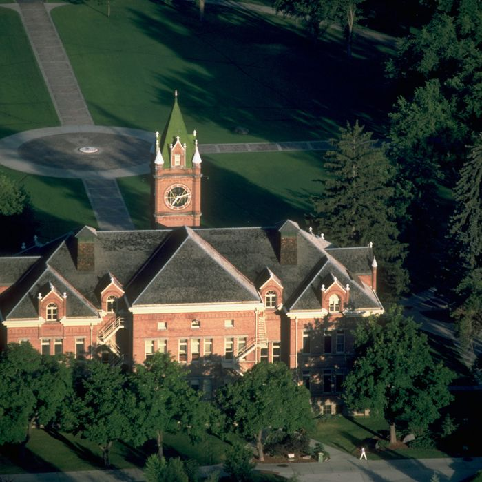The campus of the University of Montana in Missoula.