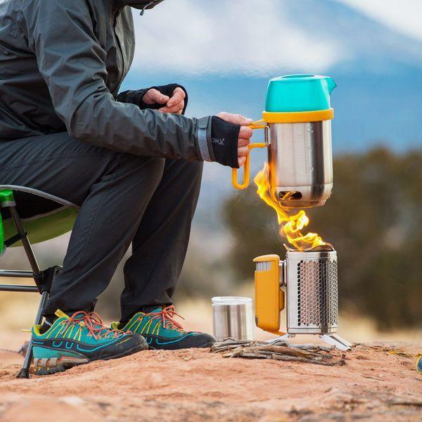 BioLite CampStove 2 Wood-Burning and USB-Charging Camping Stove