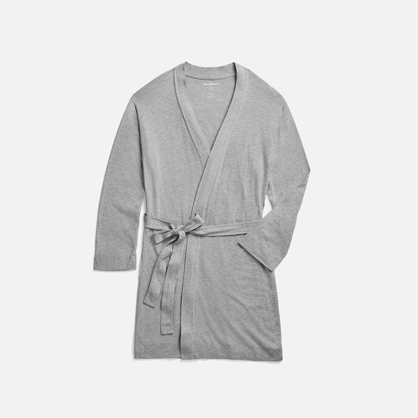 Brooklinen Atlantic Robe, Heather Gray