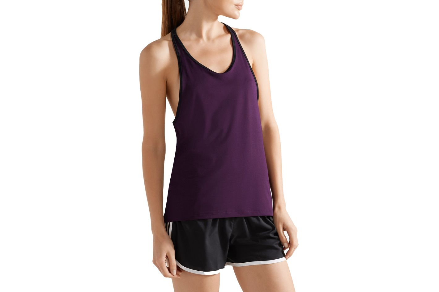 ADIDAS PERFORMANCE Performer Climalite cutout stretch tank
