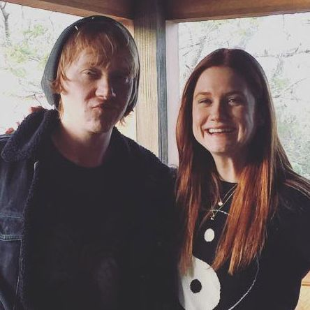 Rupert Grint, Bonnie Wright Have a HP Reunion -- Vulture руперт гринт инстаграм