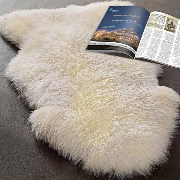 Real Sheepskin Rug