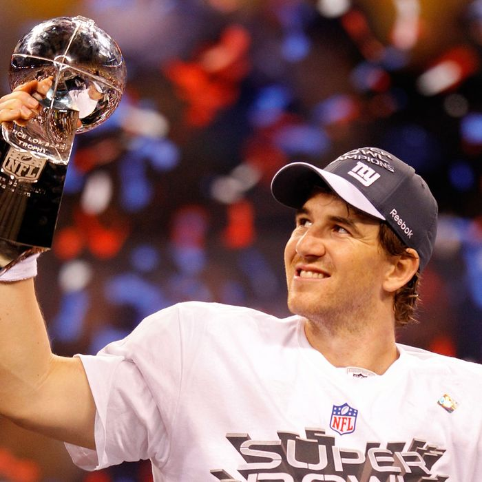 Quarterback Eli Manning #10 of the New York Giants