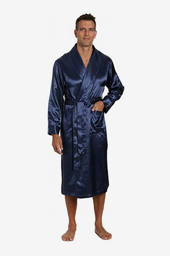 Noble Mount Men s Premium Satin Robe 55464b181