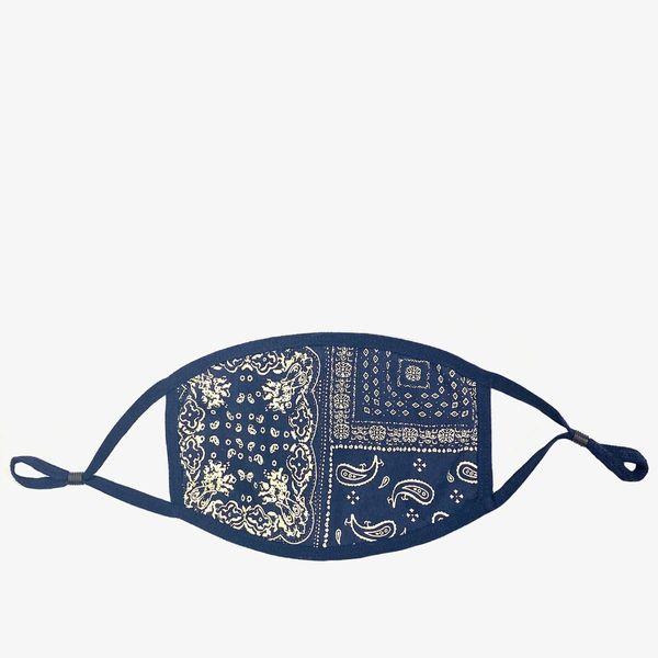 Profound Multi Bandana Navy Cotton Face Mask