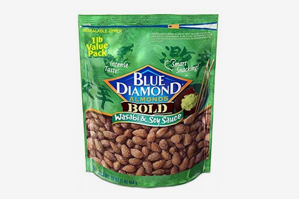 Blue Diamond Wasabi & Soy Sauce Almonds, 16 Oz.