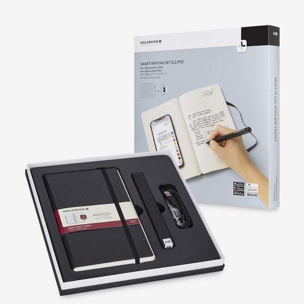 Moleskine Pen+ Ellipse Smart Writing Set Pen & Ruled Smart Notebook