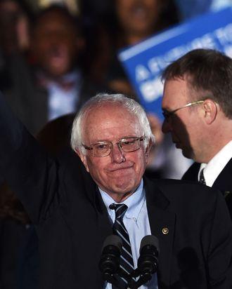 Bernie Sanders, winning minds and hearts.