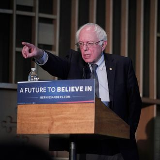 Bernie Sanders Attends Community Forum In Flint On Water Crisis