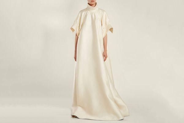 The Row Alba Mikado-Silk Gown