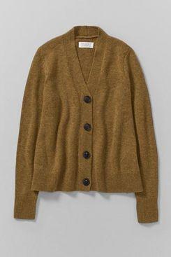 Wool Cashmere Swingy Cardigan