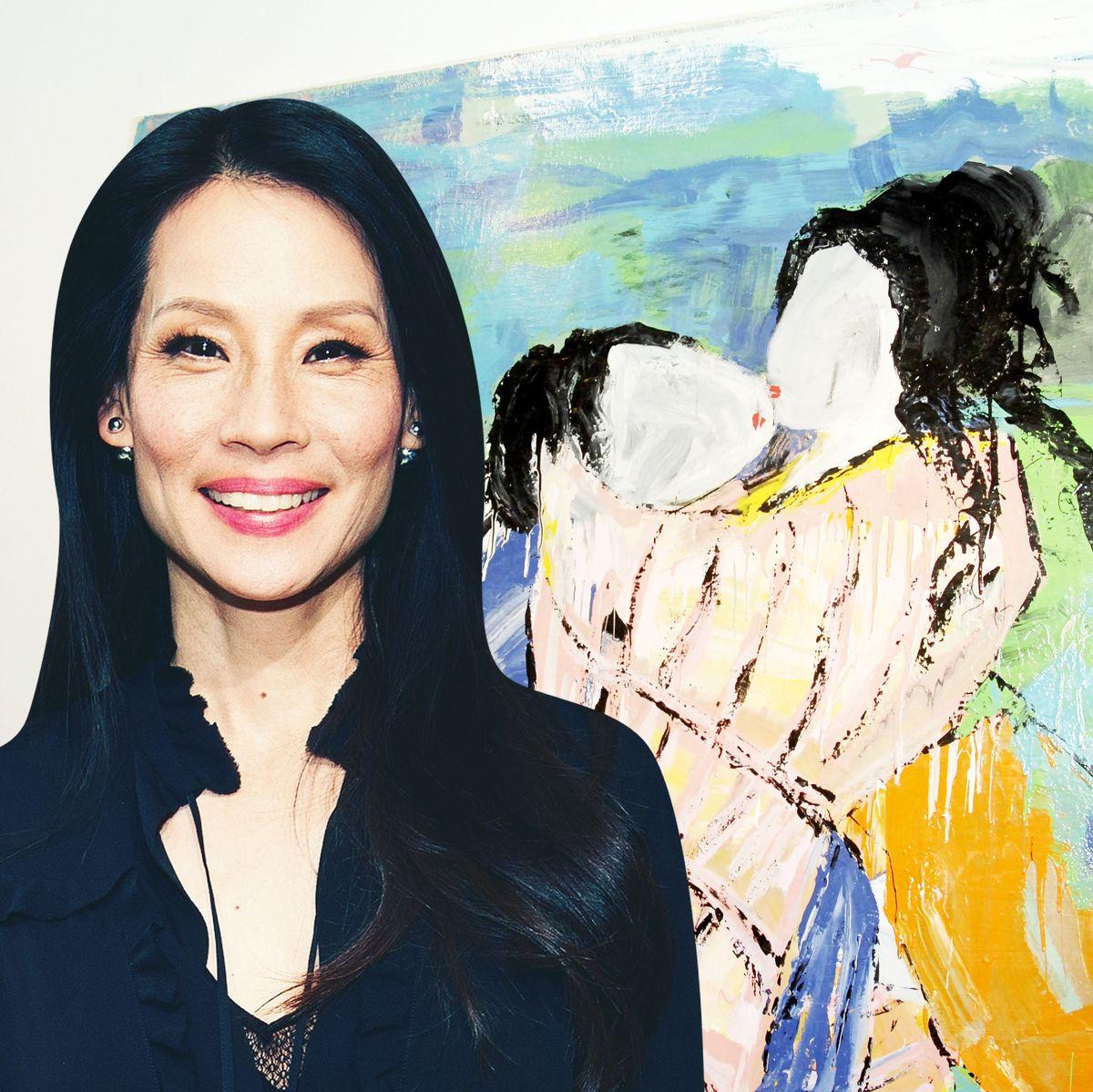 Did You Know Lucy Liu Creates Beautiful Erotic Paintings