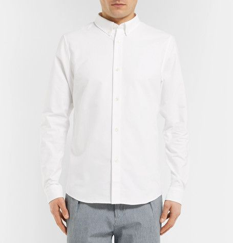 03f79e40a0a APC Slim-Fit Button-Down Collar Cotton Oxford Shirt