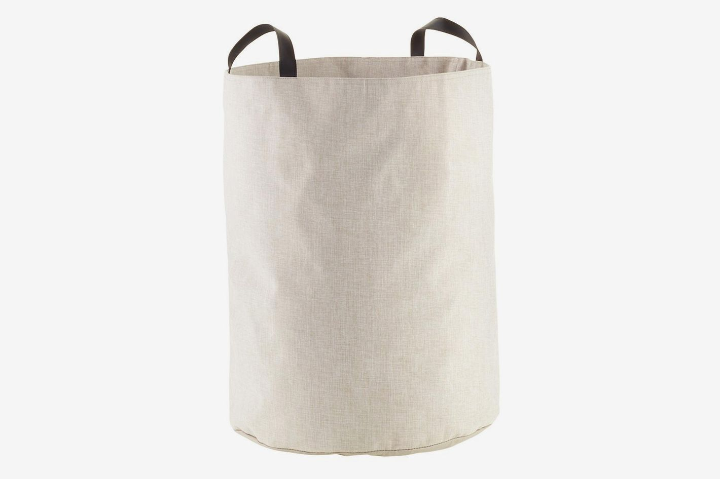 The Container Store Bigso Flax Fabric Storage Bin With Handles