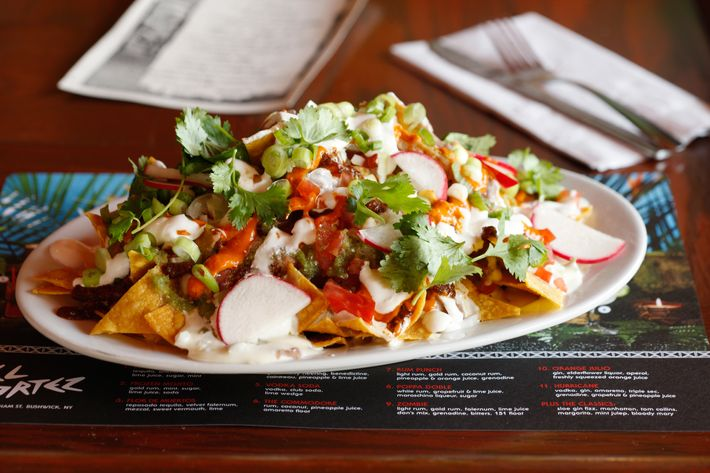 But there are nachos, of course.