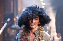 John Galliano walks the runway during John Galliano show as part of Paris Menswear Fashion Week Fall/Winter 2011-2012 at Couvent des Cordeliers on January 21, 2011 in Paris, France.