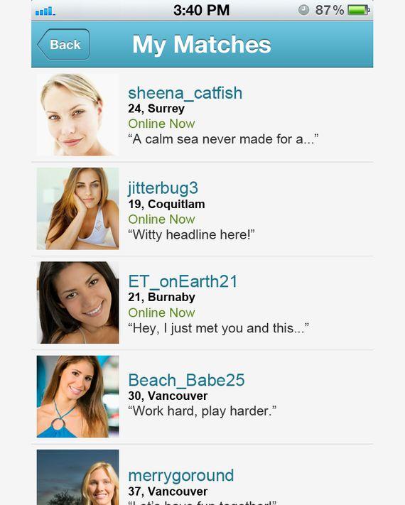 Charlies dating profile animated gif