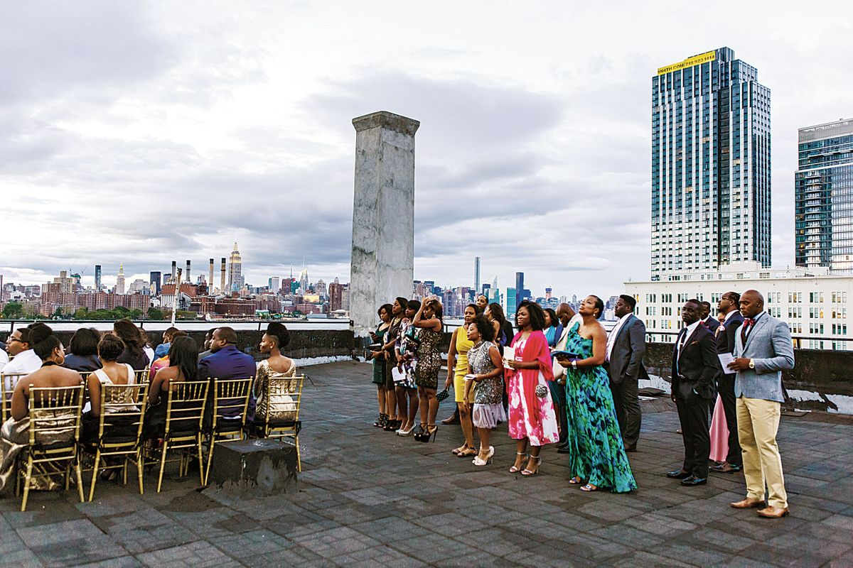 Nymag Real Weddings: - Real Wedding Album: A Rooftop Party