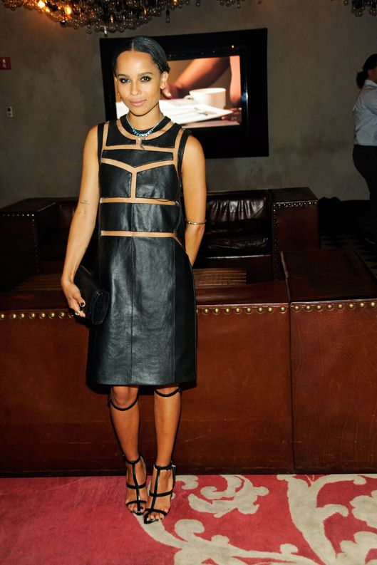 Zoe Kravitz attends the Zoe Kravitz For Swarovski Crystallized Launch at Gramercy Park Hotel Rooftop on March 21, 2013 in New York City.