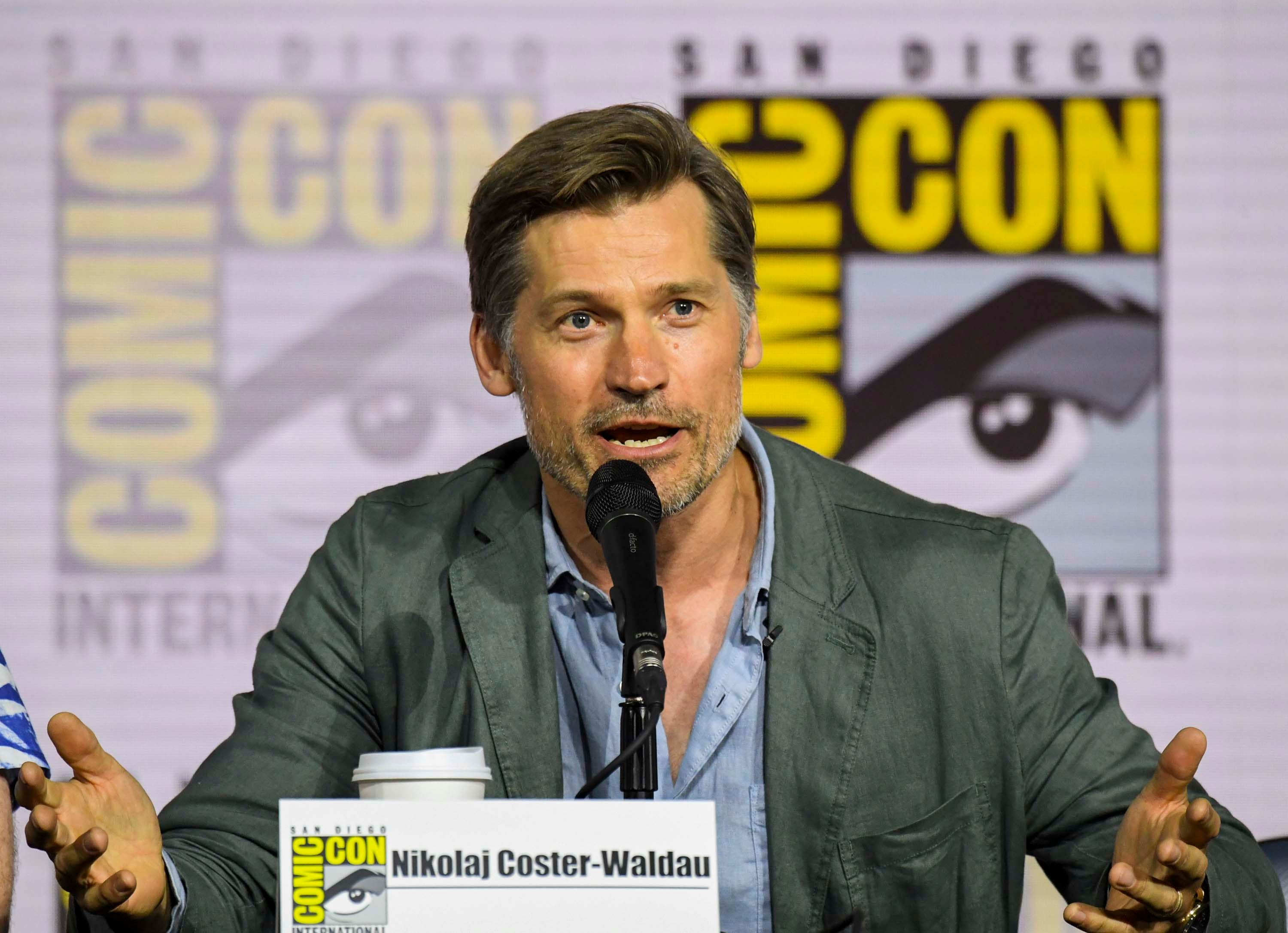 Nikolaj Coster-Waldau Gets Lightly Booed at Comic-Con for Defending Jamie's Fate on Game of Thrones