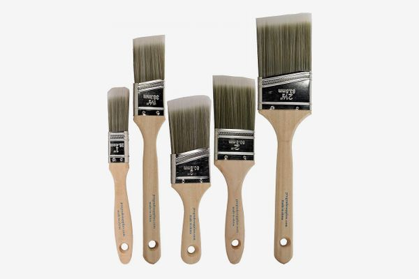 Pro-Grade Home Wall/Trim House Paint Brush Set