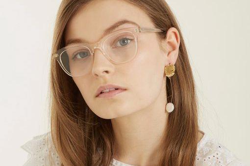 Garrett Leight Loyola 47 Square-Frame Glasses