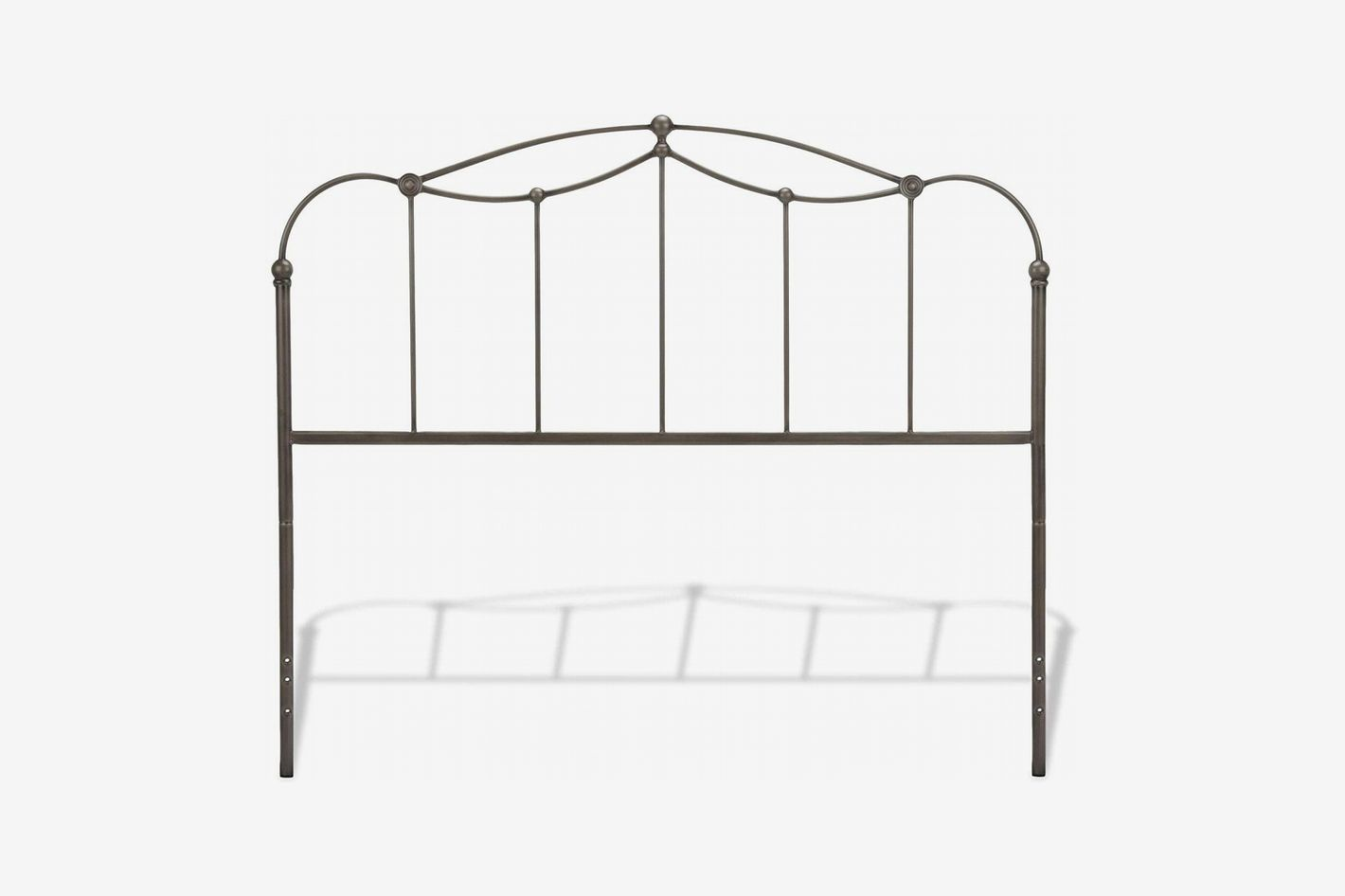 Fashion Bed Group Affinity Metal Headboard, Blackened Taupe Finish