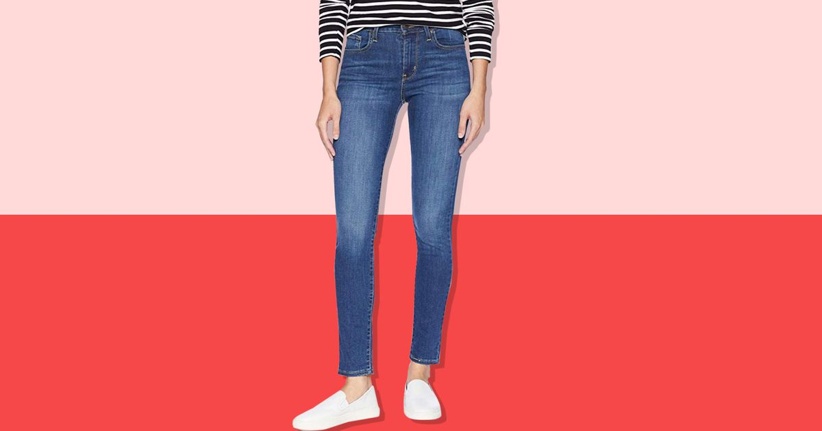 These High-Waisted Levi's Jeans Are 33 Bucks