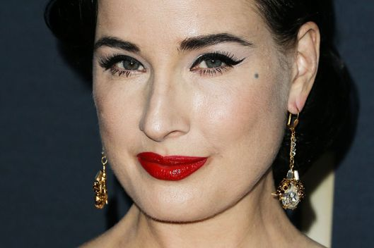 Natural' Makeup Is Just As Much Work :   Dita von Teese, burlesque queen and lingerie designer