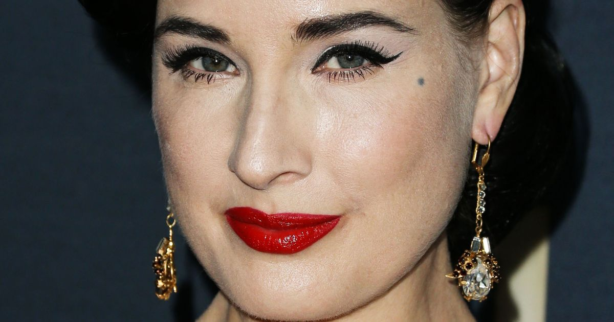 Dita Von Teese Says Natural Makeup Is Just As Much Work