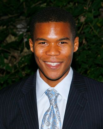 Actor Gaius Charles attends the Public Theater and Labyrinth Theater's production of
