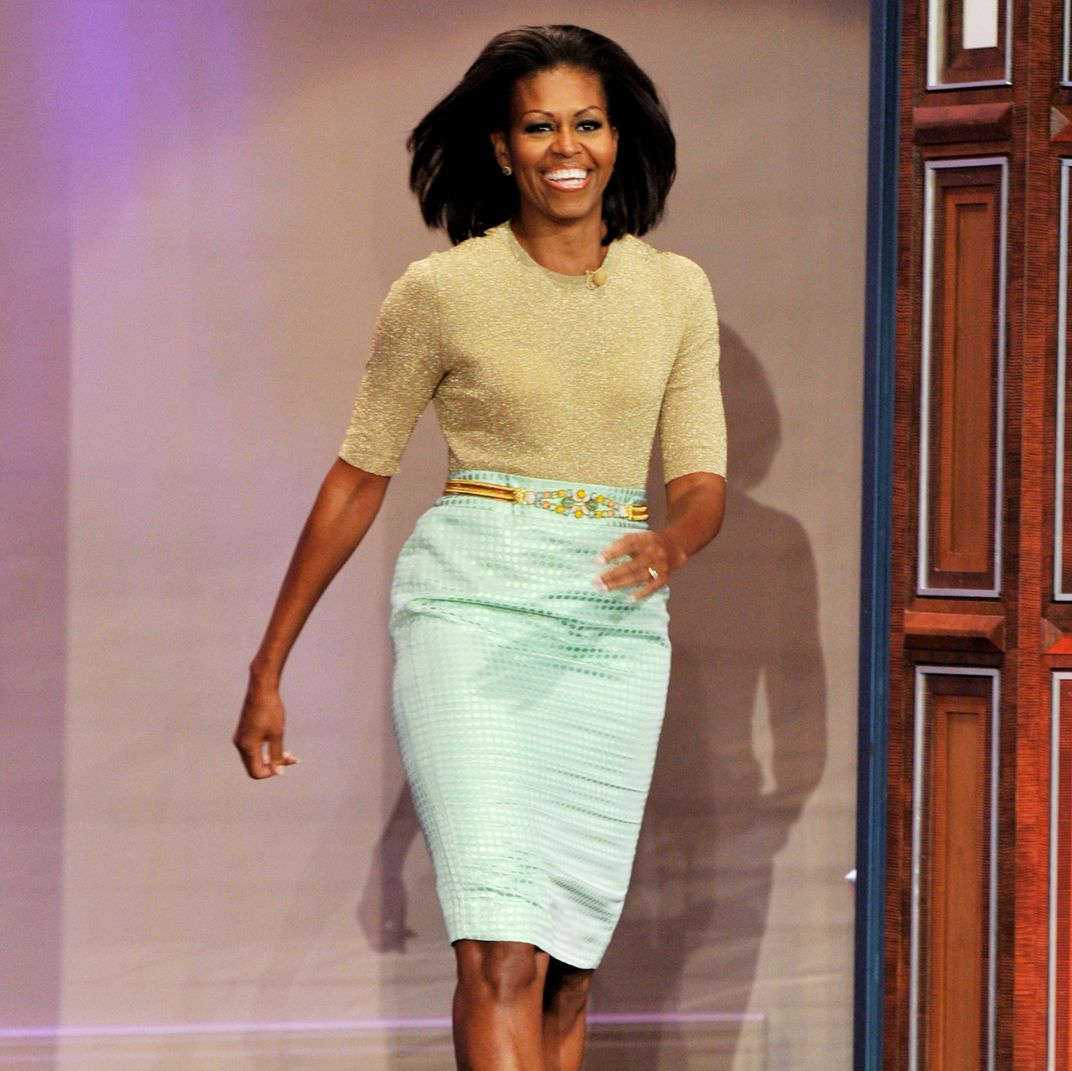 ec556339da Photos: All the J.Crew Michelle Obama Wore As First Lady