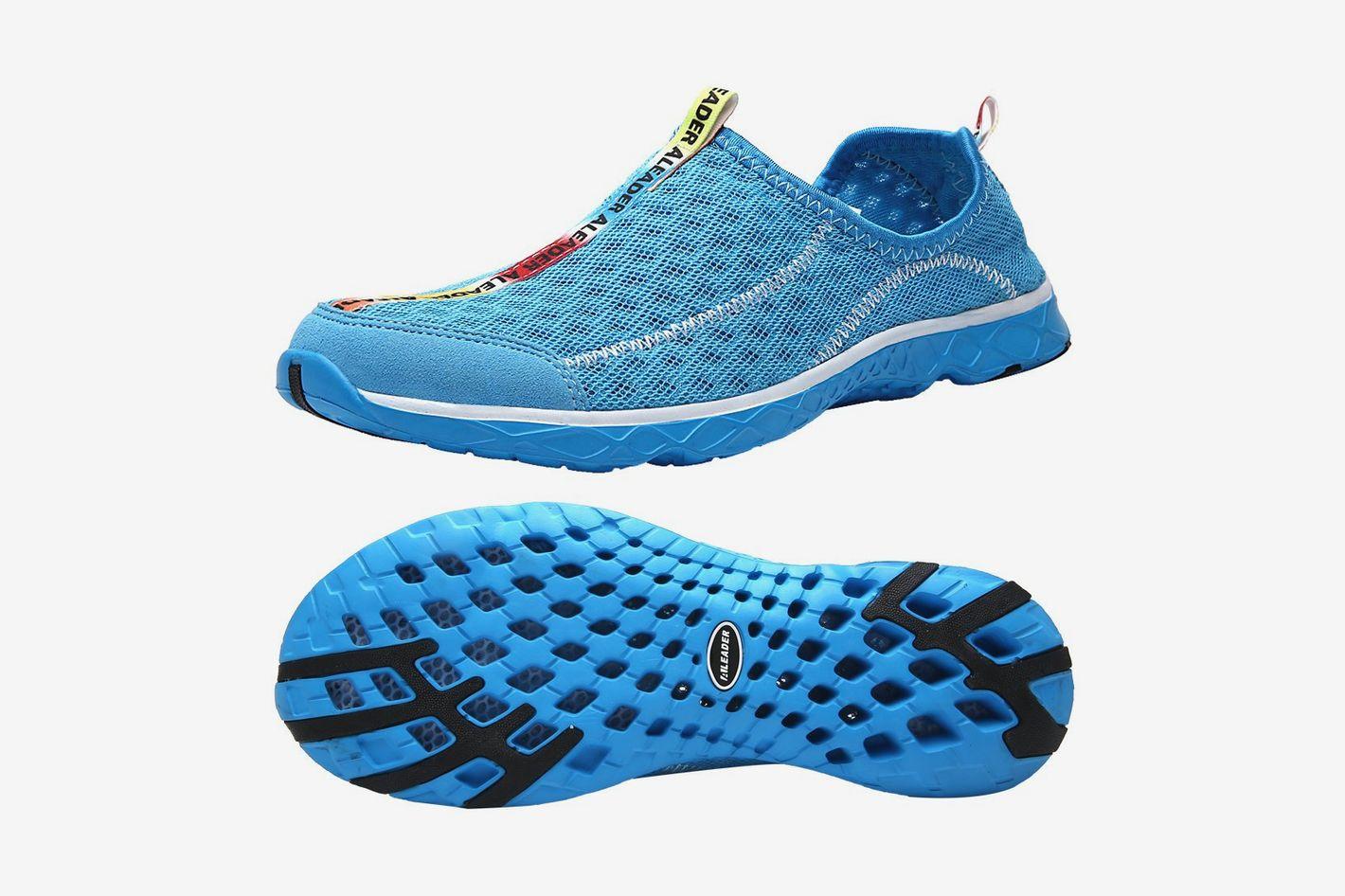 a7399bf69e Aleader Men's Mesh Slip On Water Shoes