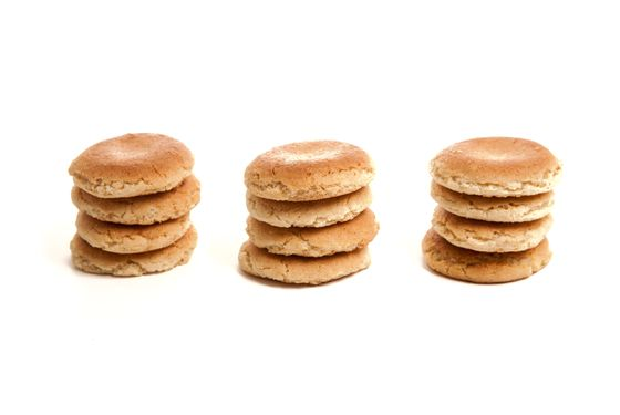 The Basque macaron predates the pastel-sandwich style by about three centuries.