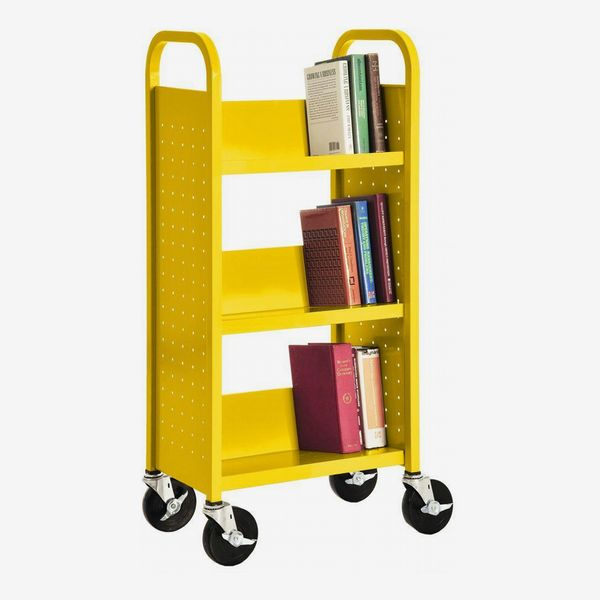 Sandusky Sunshine Mobile Steel Bookcase