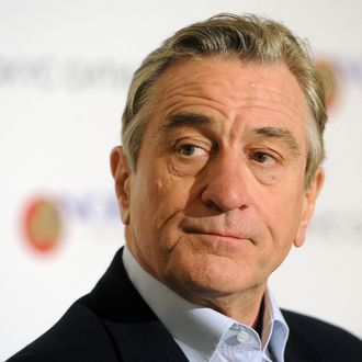 American actor, director, and producer Robert De Niro at an event marking the 10th anniversary of Crocus City Mall.