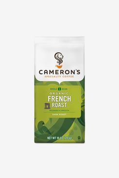 Cameron's Coffee Roasted Whole Bean Coffee, Organic French Roast, 10 Ounce