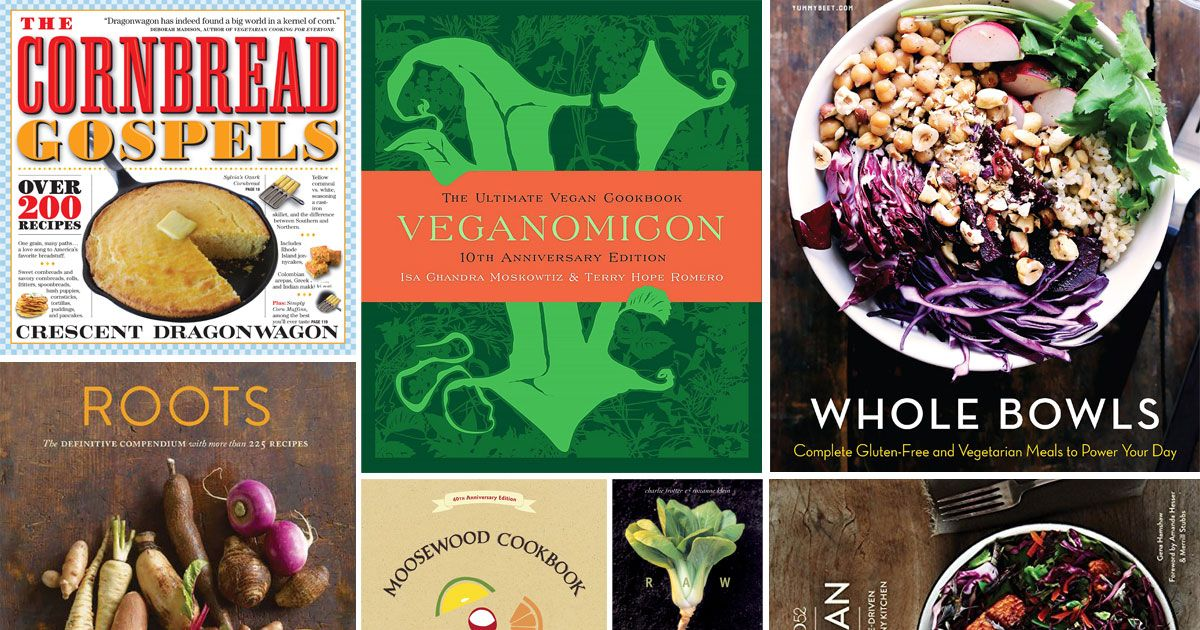 The Best Vegetarian and Vegan Cookbooks, According to Chefs