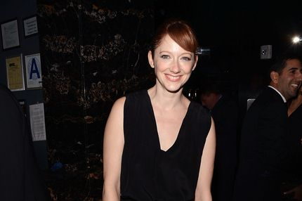 "Actress Judy Greer attends the Film District and Chrysler with The Cinema Society premiere of ""Playing For Keeps"" after party at Dream Downtown on December 5, 2012 in New York City."