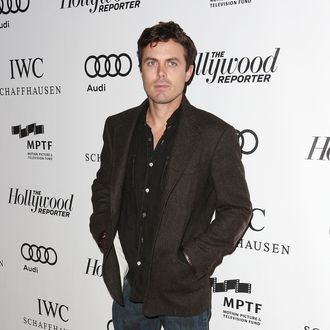 Actor Casey Affleck attends the Second Annual Reel Stories, Real Lives Benefiting The Motion Picture & Television Fund at the Milk Studios on October 20, 2012 in Hollywood, California.