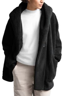 The North Face Campshire Plush Fleece & Faux Shearling Cardigan